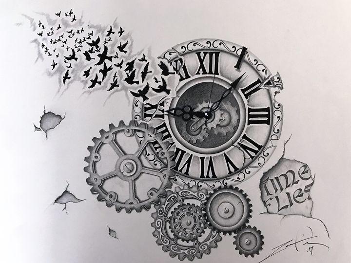Time Flies - Ingenious Artwork