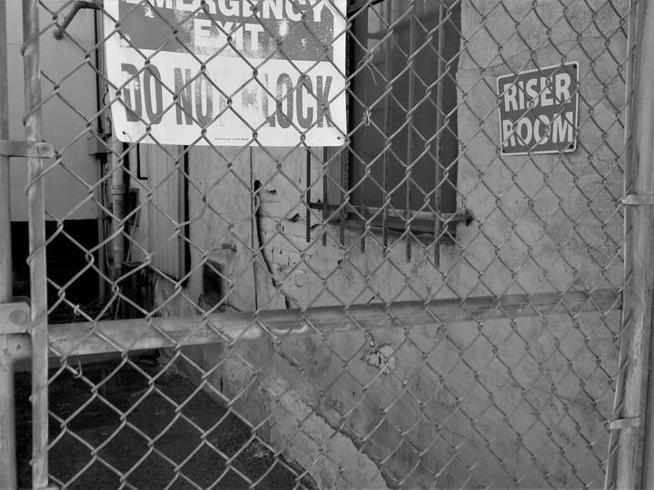 DO NOT BLOCK THE RISER ROOM!!!!! - Dylan McGarry