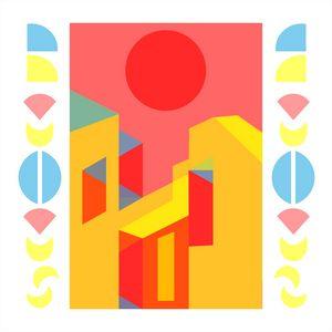 Bauhaus Style Digital Art