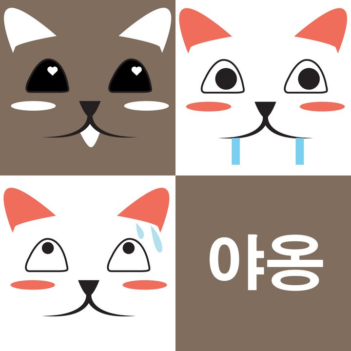 Cat Face Expression - MO_Plattle