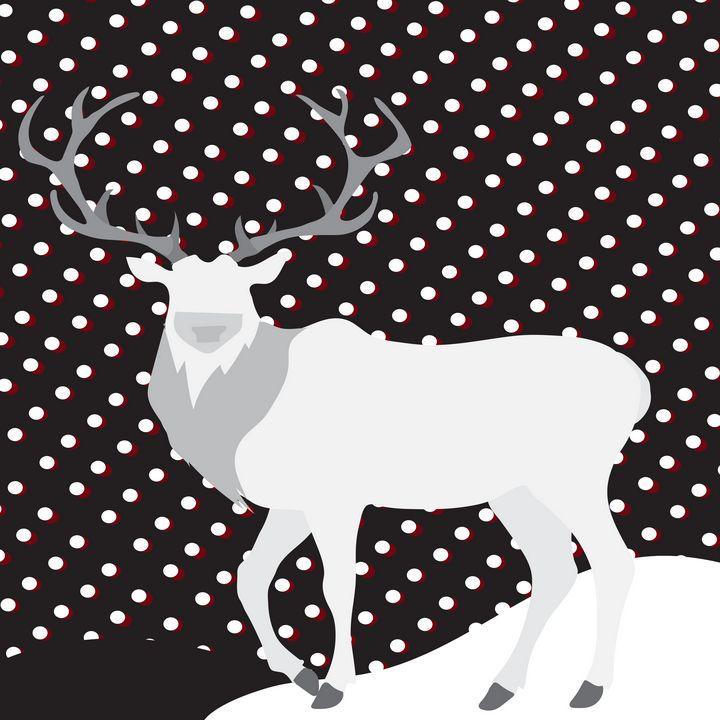 Snow Deer - MO_Plattle