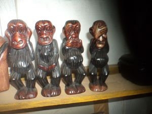 Four Wise Monkey