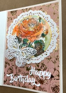 Happy Birthday Card - Irina Collister Art