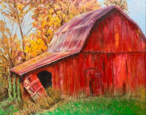 Red Barn #2. - Irina Collister Art