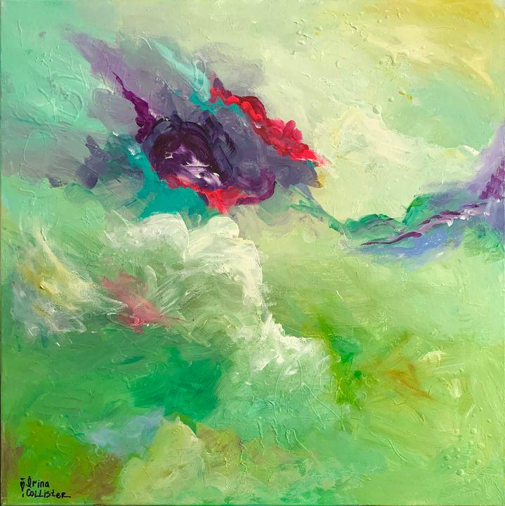 High Vibrations. - Irina Collister Art