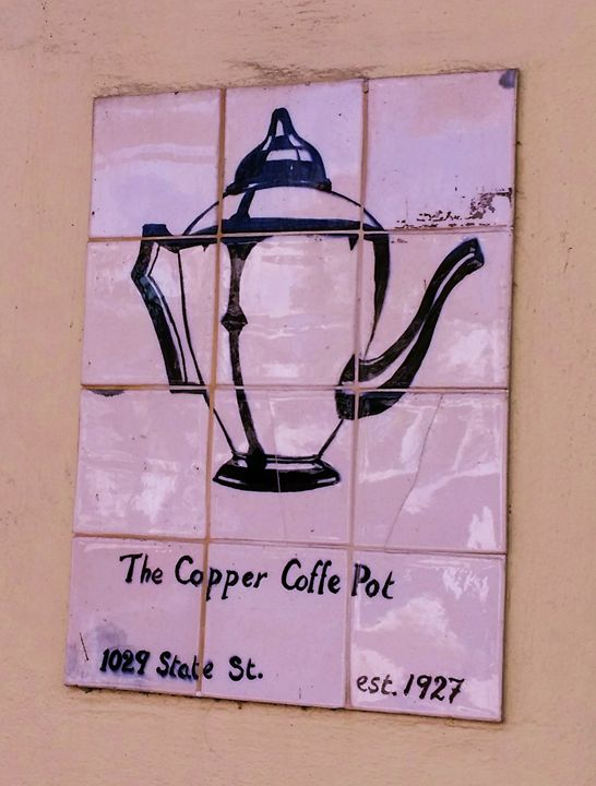 Copper Coffee Pot - J. Satterstrom Designs