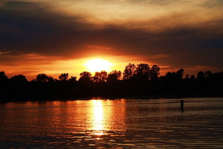 Sunset on the Fox - J. Satterstrom Designs