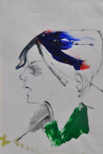 The green collar / Il colletto verde - UniversoArte