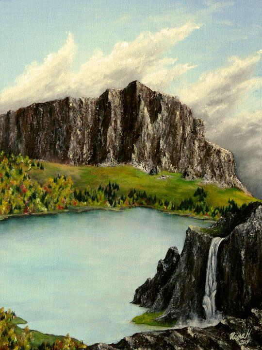 The Upcomming Fall - Hana Hladikova Art Studio