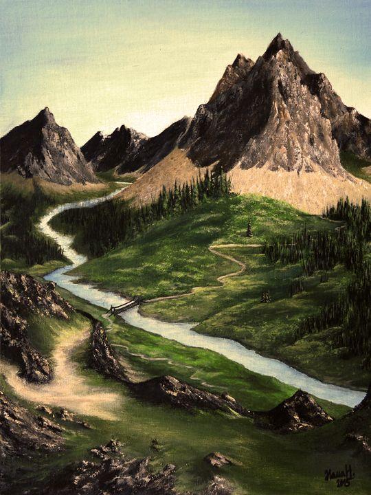 The Viewpoint - Hana Hladikova Art Studio