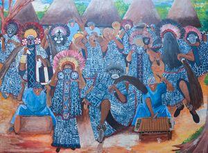Bamileke traditional danse