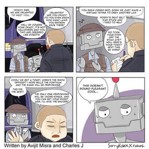 Cops and Robo