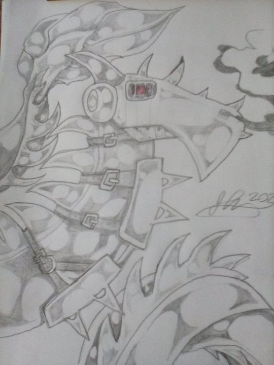 Armored Beast - Twisted Illustrations
