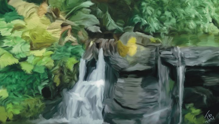 The Waterfall in Stanley Park - An Exploration of Post Modern Vanillaism