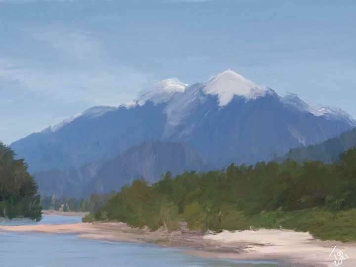 Squamish River - An Exploration of Post Modern Vanillaism