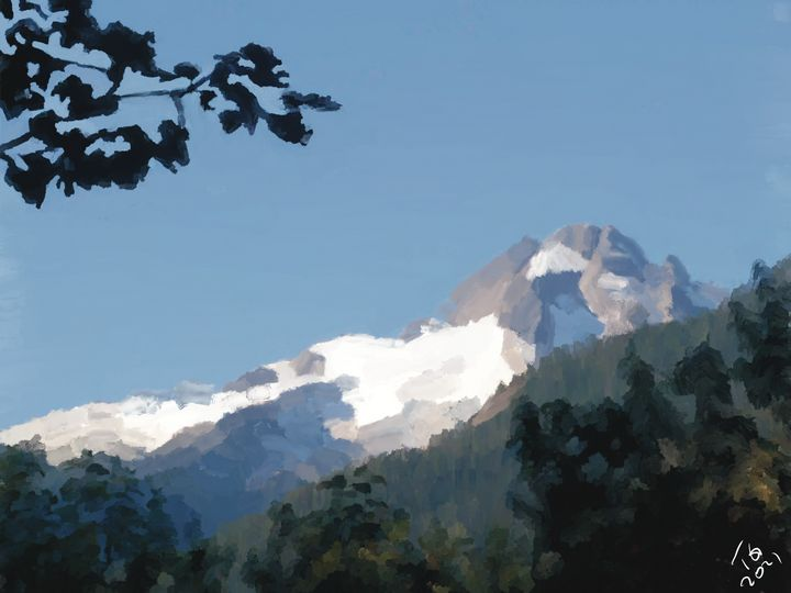 Squamish Mountains - An Exploration of Post Modern Vanillaism