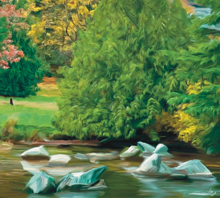 Charleson Park Pond - An Exploration of Post Modern Vanillaism