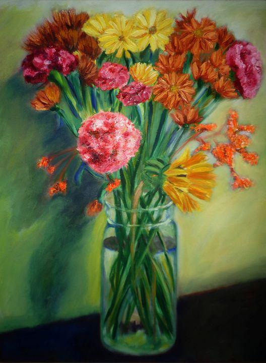 Vase of Flowers - Jacki Gatewood
