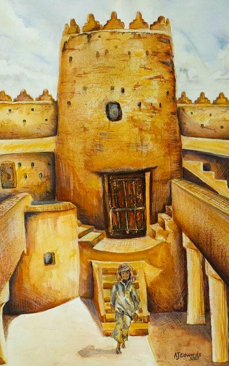 Morocco fort - Allan Edwards