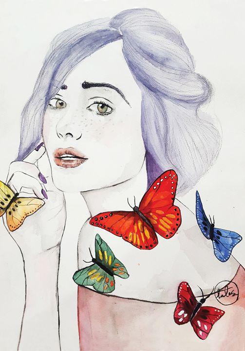 Butterfly Queen - talesbytalea