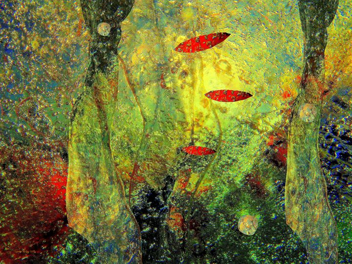 SEPTEMBER ABSTRACT III - Tussila Spring Fine art