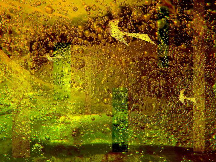 FIFTY SHADES OF GOLD I - Tussila Spring Fine art