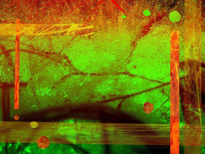 Dreams of a Golden World 8 - Tussila Spring Fine art