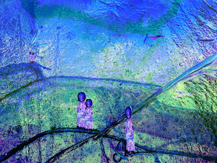 THEY WILL COME HOME SOON - Tussila Spring Fine art