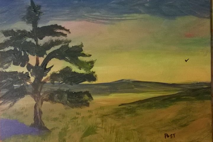 Lonely Tree - Brian Post