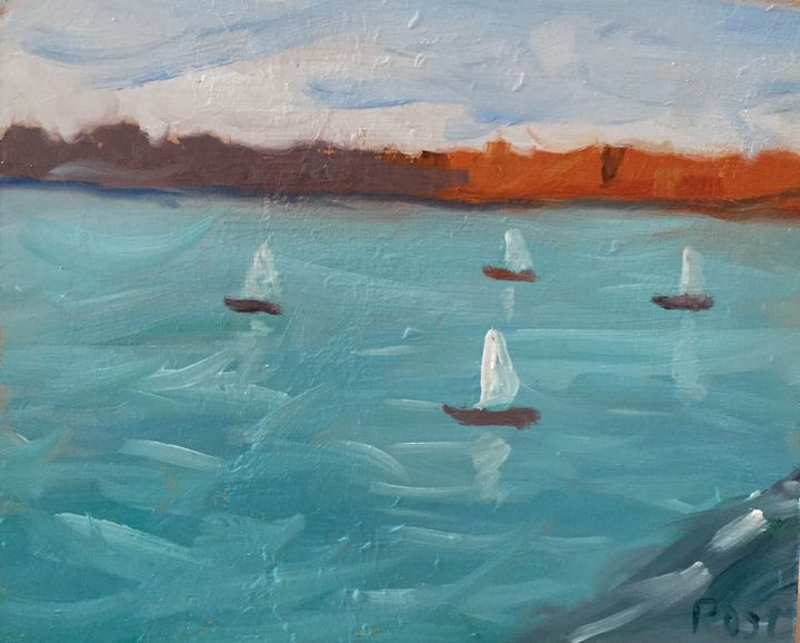 Boats on a lake - Brian Post