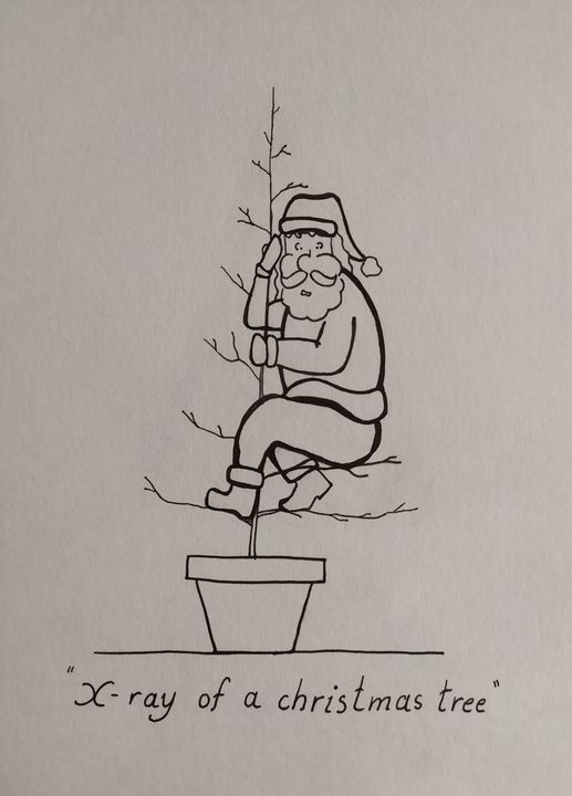 X-ray of a Christmas tree - Desta