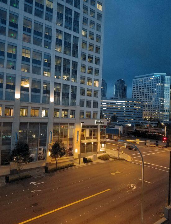 Bellevue Night - Time Gallery
