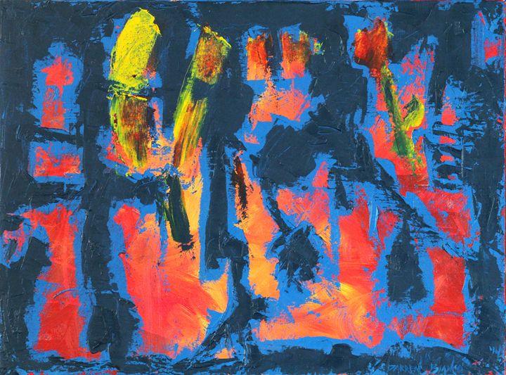 """Live""  oil on canvas 2014 - Darren Bianco"