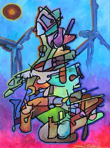 """""""Don Quixote"""" 2014 Oil Canvas"""