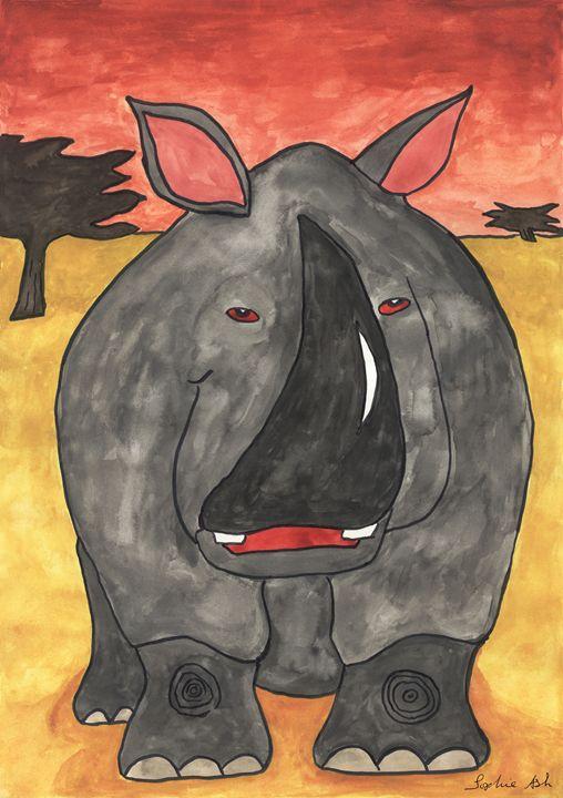 Rhino - Sophie's Menagerie
