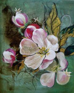 The rest-Temptation (apple blossom)