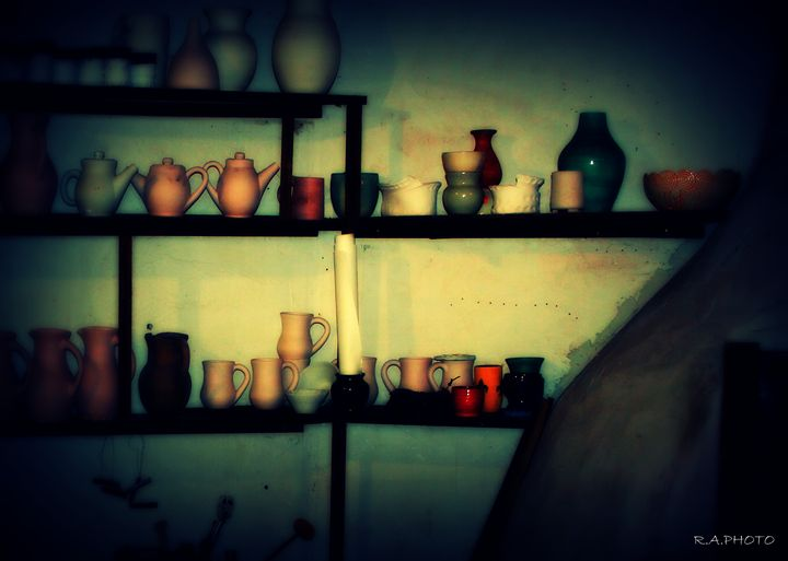 Shelved Color - R.A.PHOTO