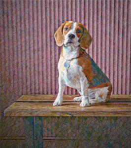 Sitting Pretty Doggie - TRS Digital Designs