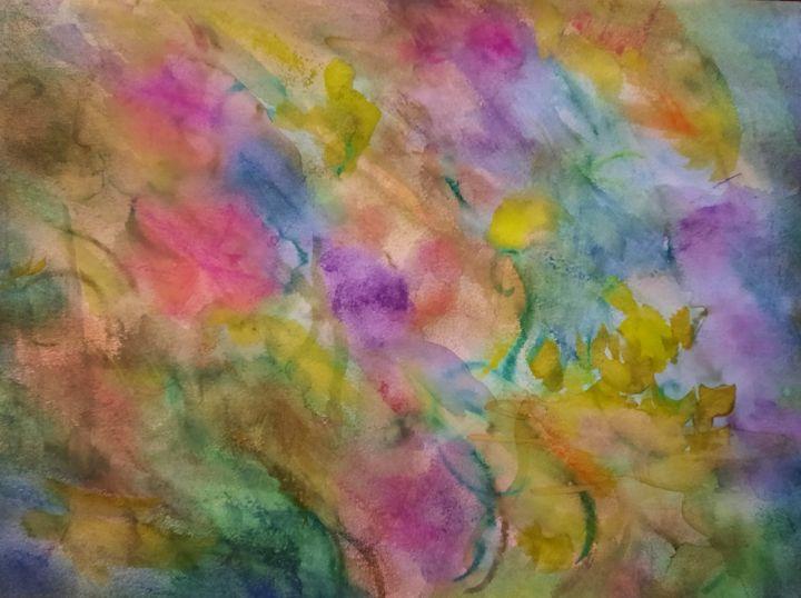 Pastel Watercolor Vibrant Colors - TRS Digital Designs