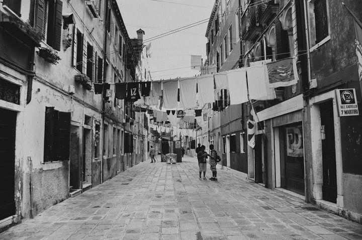 Street in Venice - Adilena