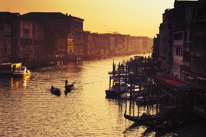 venice at sunset - Adilena