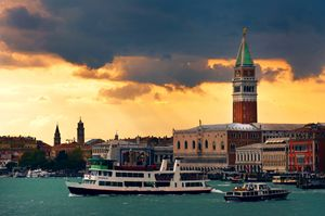 venice in sunset