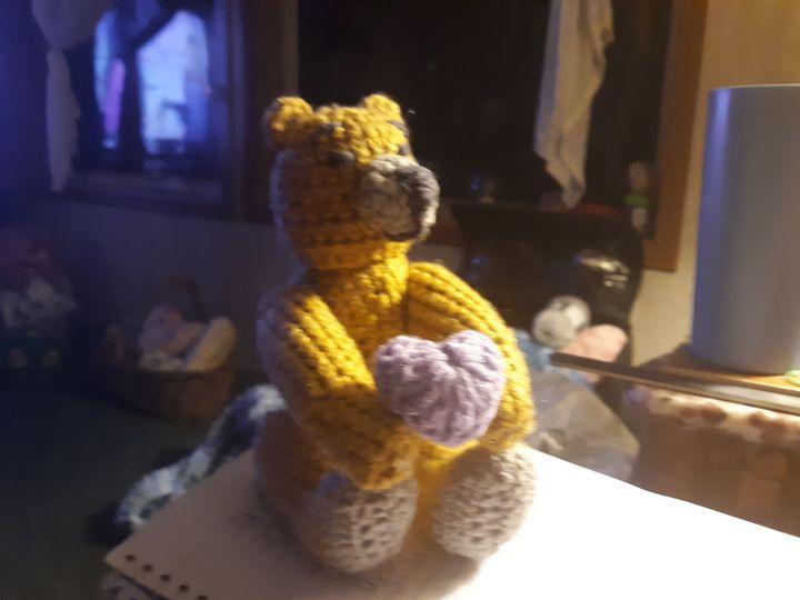 Thorn teddy bear - Kentucky Country Cottage