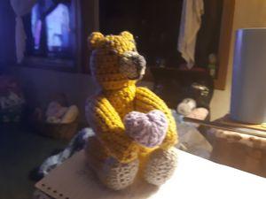 Thorn teddy bear