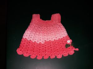beautiful hand crocheted dress - Kentucky Country Cottage