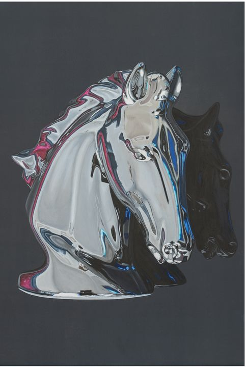 Chrome Horse - Madeline Parker Art