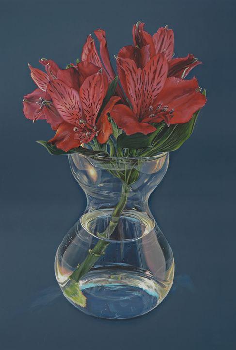Alstroemeria - Madeline Parker Art