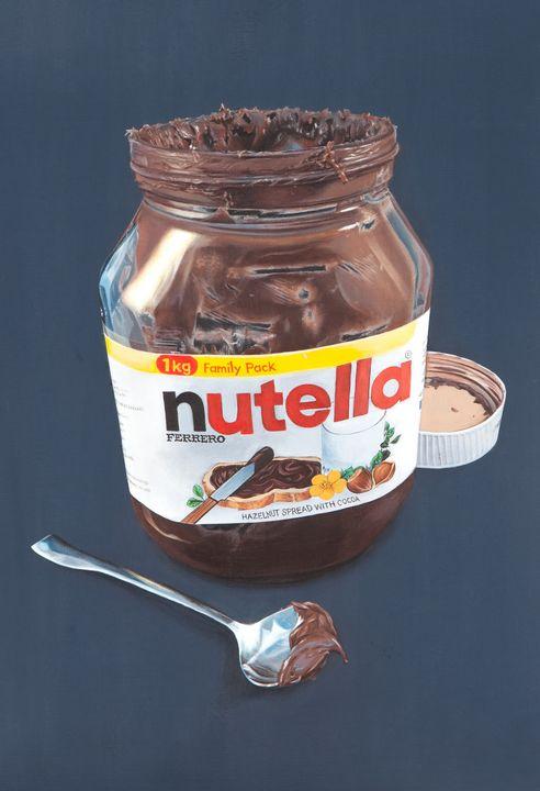 Nutella Jar - Madeline Parker Art