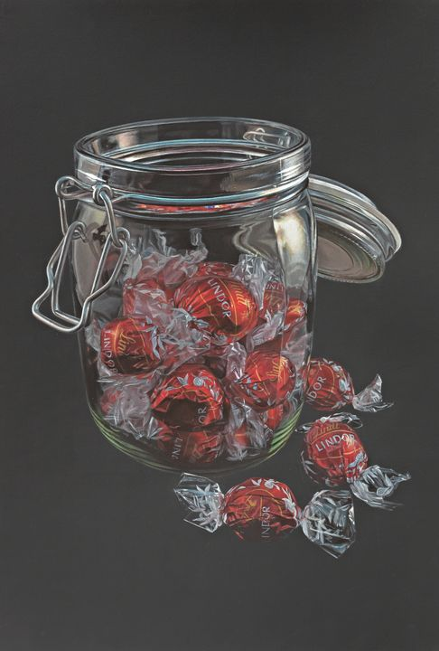 A Jar of Lindors - Madeline Parker Art