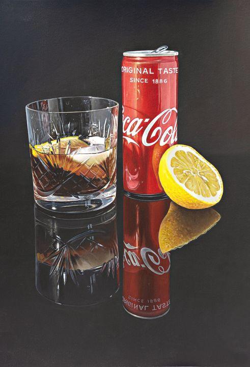 Coke & Lemon - Madeline Parker Art